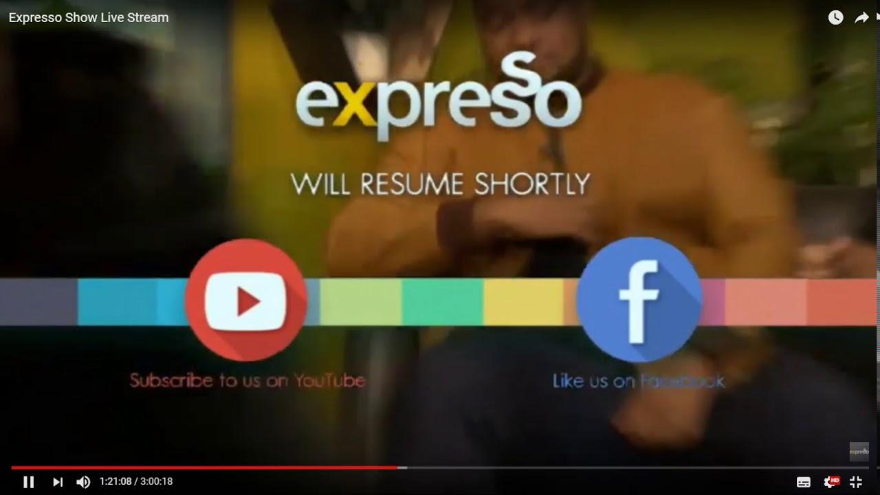 On Expresso SABC 3 - YouTube