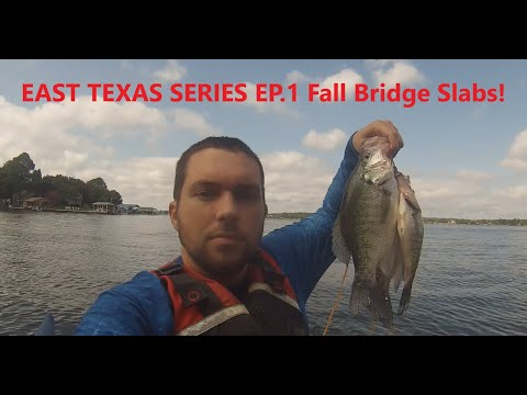 East Texas Crappie Series Ep.1 (Fall Crappie On The Bridges)