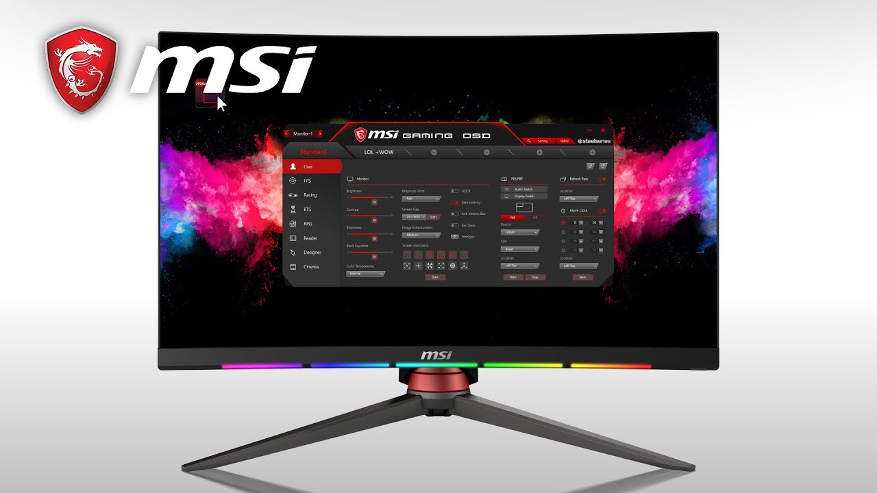 How to use the MSI Gaming OSD app | Gaming Monitor | MSI