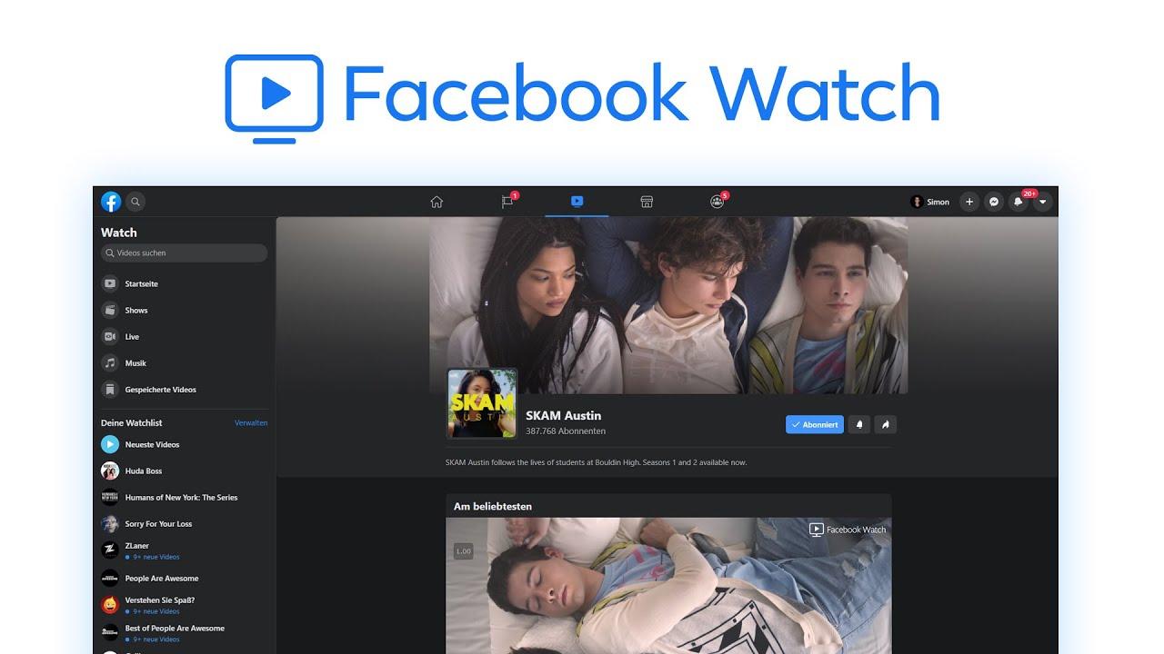 Facebook Watch (Tutorial) Shows, Videos & Livestreams einfach anschauen