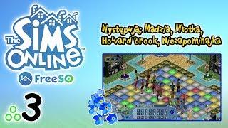 """Free Sims Online #3 - Madzia, Młotka, Howard i ja - """"Ja im macham lepiej"""""""