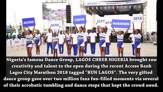 Fabulous Acrobatic Stunts from Access Bank's Lagos City Marathon tagged #RunLagos