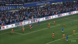 FIFA 14 - Chelsea FC vs. FC Barcelona Gameplay [HD]
