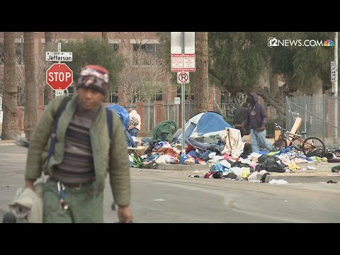 City of Phoenix and local groups working to the homeless