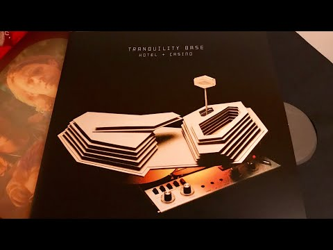 Arctic Monkeys - Tranquility Base Hotel + Casino - Vinyl LP Unboxing