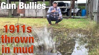 Baixar Rock Island 1911s tossed into mud and fired (Gun Bullies)