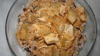 Poulet curry rouge thaïlandais ??