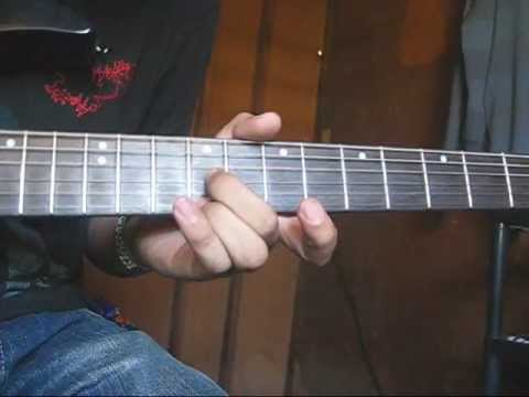 Pusong Bato Guitar Intro Tutorial - YouTube