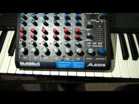 Alesis Multimix 8 USB2.0 Multi Channel Digital Interface Review