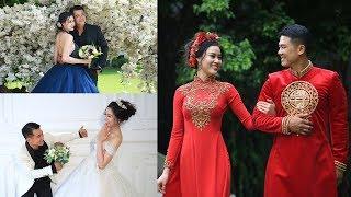Tránh hiểu nhầm vợ cũ và vợ mới nến đến bây giờ Vân Quang Long mới công khai ảnh cưới vợ mới