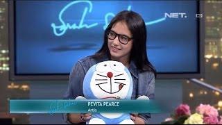 Sarah Sechan - Artis cantik Pevita Pearce jadi dalang Doraemon