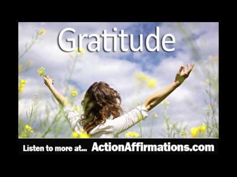 Gratitude Affirmations