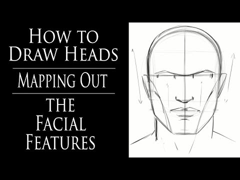 how-to-draw-heads---mapping-out-the-facial-features
