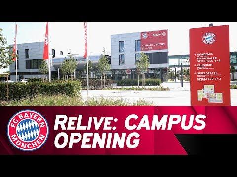 ReLive | Eröffnungsfeier FC Bayern Campus