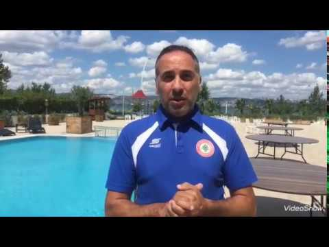 Lebanon Football U19 Training Camp in Turkey 2017 Organized by Vision Sports