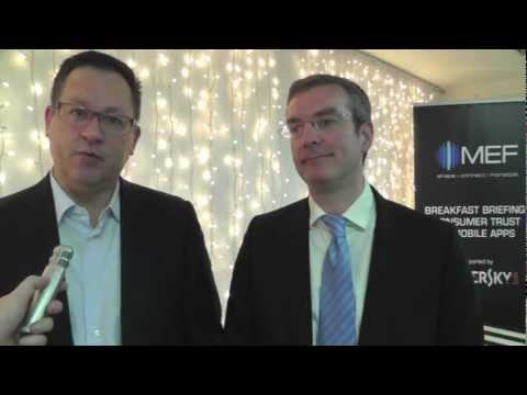 MWC 2013 - Todd Daubert & Nick Graham, SNR Denton