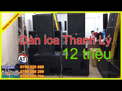 (Đã Bán Hết) Thanh Lý Dàn Loa Sân Khấu Giá Rẻ -12 Triệu ( Bán Trả Góp ) LH 0799020899