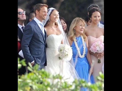 道端ジェシカ結婚!イケメンのジェンソン・バトンと玉の輿婚!決め手は勝利のミューズ!ハワイのマウイ島で結婚式の様子!