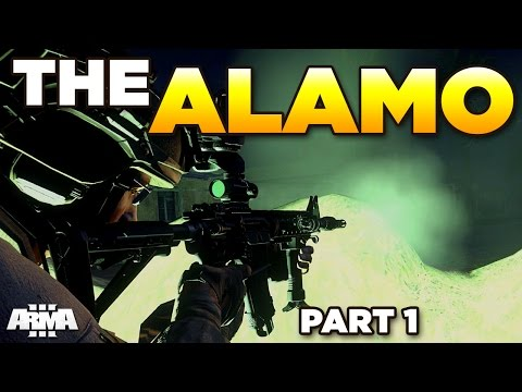THE ALAMO – Epic ARMA 3 Defence [Zeus]