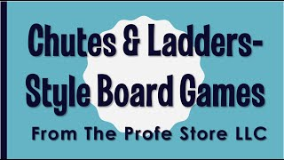 Spanish Chutes and Ladders Style Game Preview
