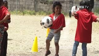 FIFA Foundation returns to help Fuego volcano victims
