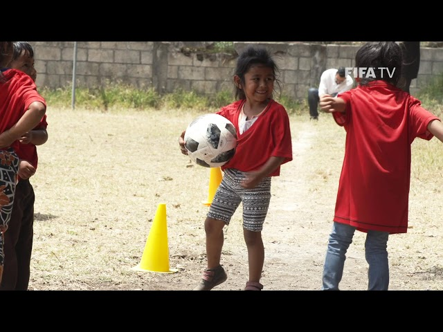 FIFA Foundation returns to help Fuego volcano victims