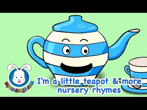 I'm A Little Teapot lyrics & more Nursery Rhymes