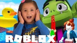 ROBLOX Escape Beast Boy Obby Adventures Let's Play Roblox with Evren Video Games