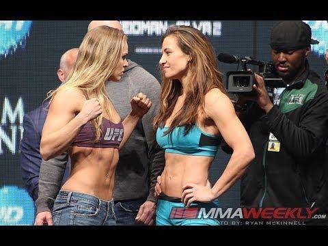 UFC 168: Weidman . Silva 2 Full Weigh-in Video from Las Vegas