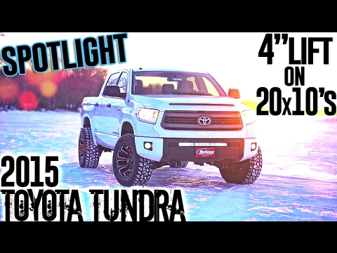 "Spotlight - 2015 Toyota Tundra, 4"" FabTech, 20x10's, and 33's!"