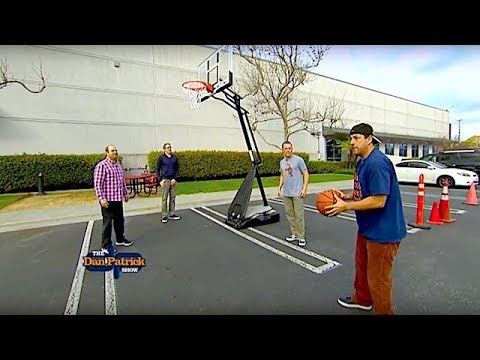 Hooping It Up with Adam Sandler   The Dan Patrick Show   3/16/18