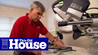 How To Cut and Install Foam Crown Molding - This Old House