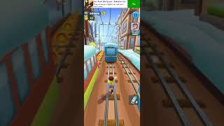subway Princess Runner : new character run    Subway surfers    Run game in Android phone #shorts