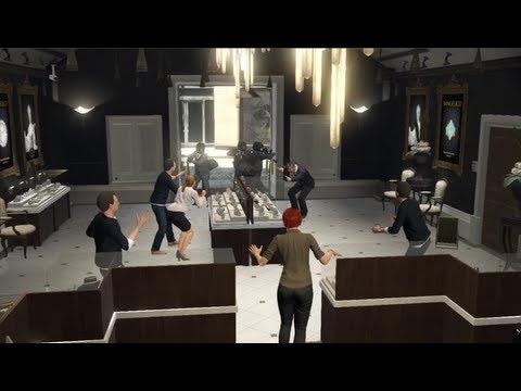 GTA V Asalto Joyera El Trabajo De La Joyeria Grand Theft