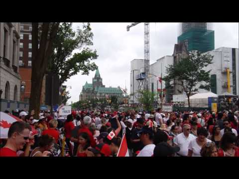Sight and Sound: Canada Day in Ottawa