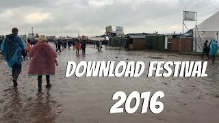 DOWNLOAD FESTIVAL 2016 VLOG!