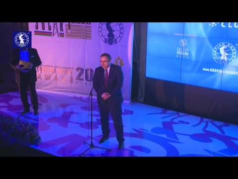 Caspian Energy Integration Award 2014 - Süleyman Qasımov