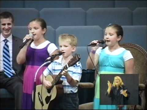 The Rochesters/Matthews Children Sing I Have Been Blessed!