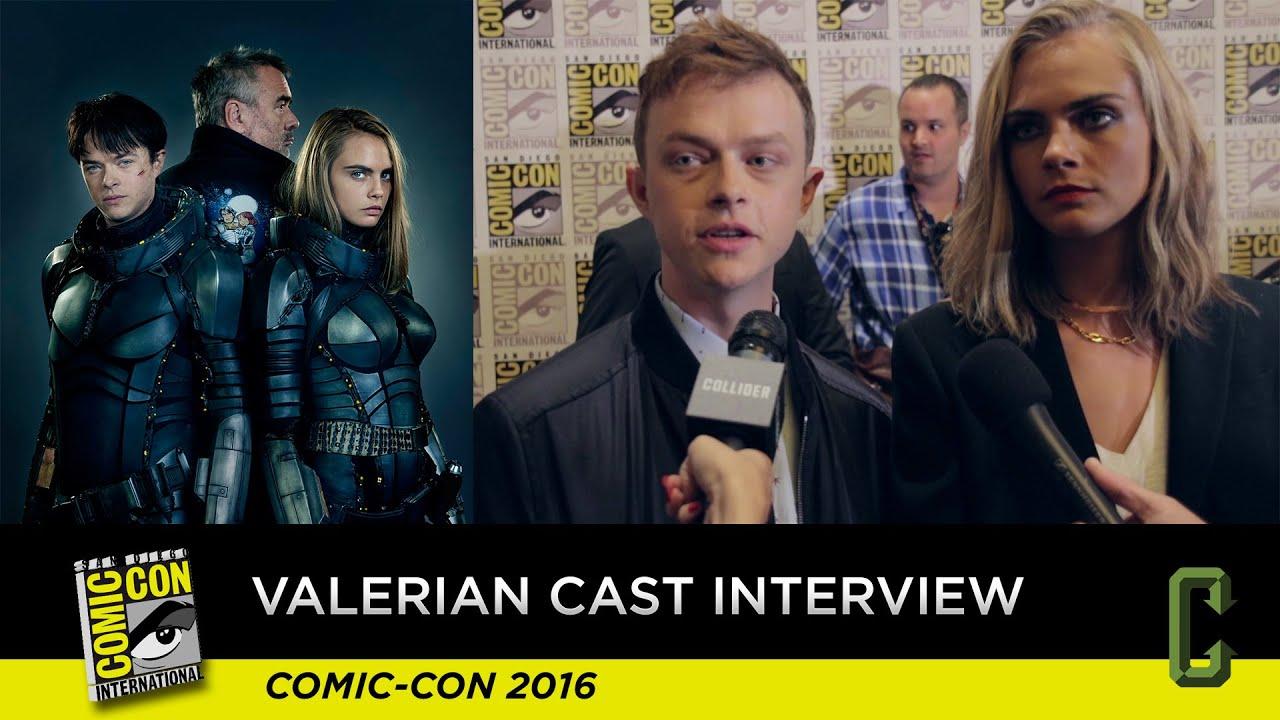 Valerian Cast Interview - San Diego Comic-Con 2016 - YouTube