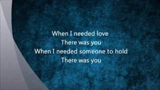 There Was You - Cueshé (with Lyrics)