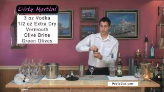 Dirty Martini - Peelsout.com