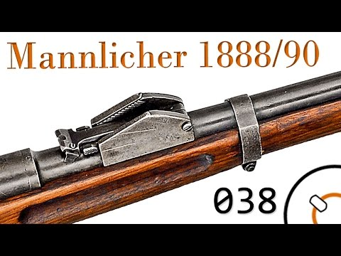 Small Arms of WWI Primer 038: Austro-Hungarian Mannlicher 1886 to 1888-90