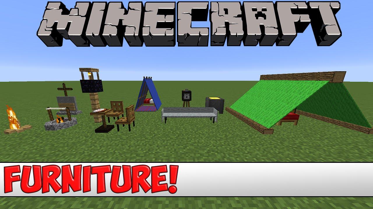 Minecraft Furniture minecraft plugin tutorial - furniture - youtube