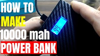 How to make Power Bank with charging information display