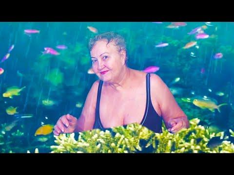 Ох, как хорошо на море, доктора рекомендовали заниматься плаванием - Татьяна Green screen Chroma Key