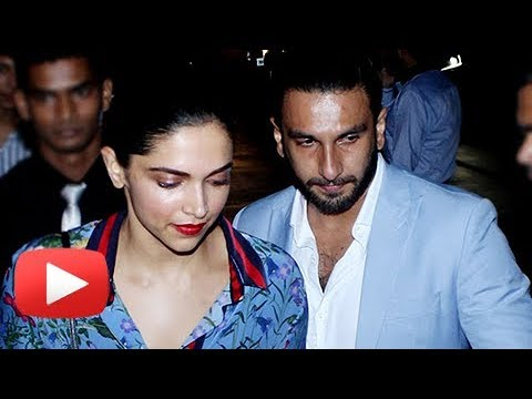 Ranveer Singh Protects Deepika Padukone From Cameras On A Late Night Date
