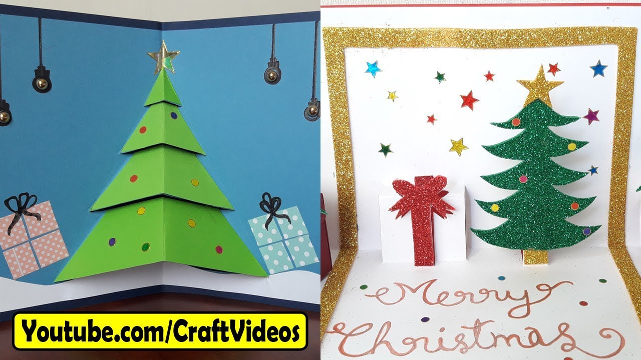 easy handmade christmas cards ideas for kids 2017 - Christmas Photo Cards 2017