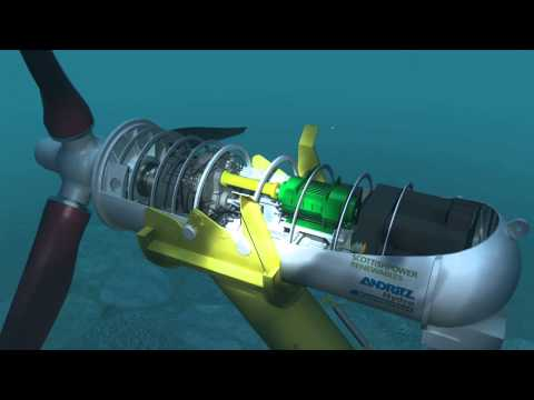 Subsea 3D animation for Andritz Hydro Hammerfest
