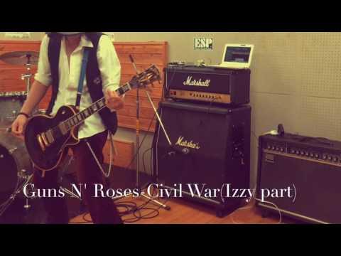 Guns N' Roses -Civil War (Izzy part)
