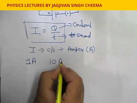 CONCEPT OF CURRENT CLASS 10TH ELECTRICITY PART-6